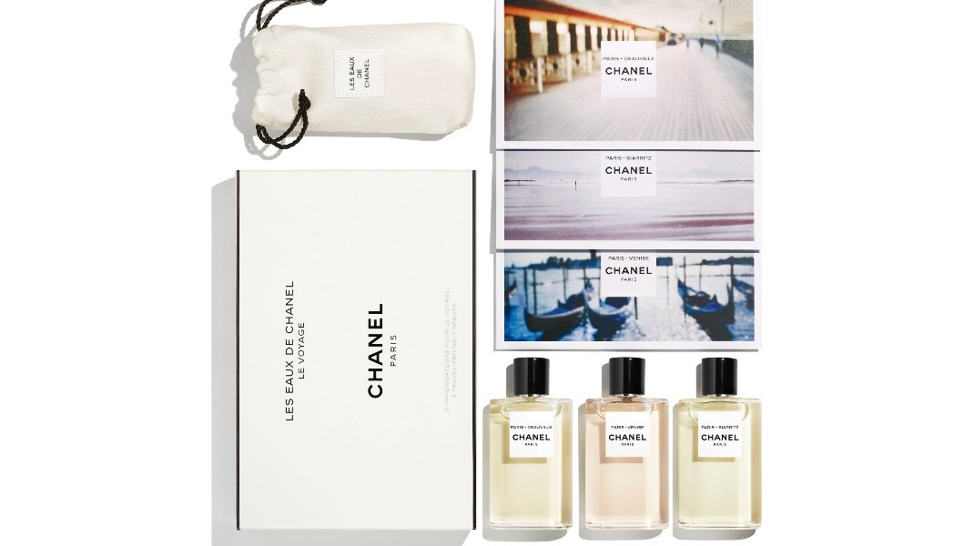 LES EAUX DE CHANEL-TRAVEL SET